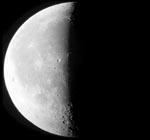 3⁄4 Mond